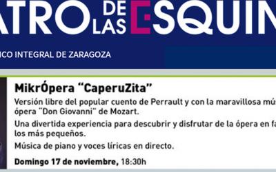 OTOÑO con ópera para niñas y niños!!!