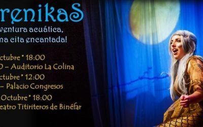 SIRENIKAS, ópera para niños, niñas y FAMILIA!!!