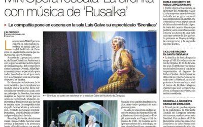 El Periódico de Aragón Diciembre 2020- Sirenikas