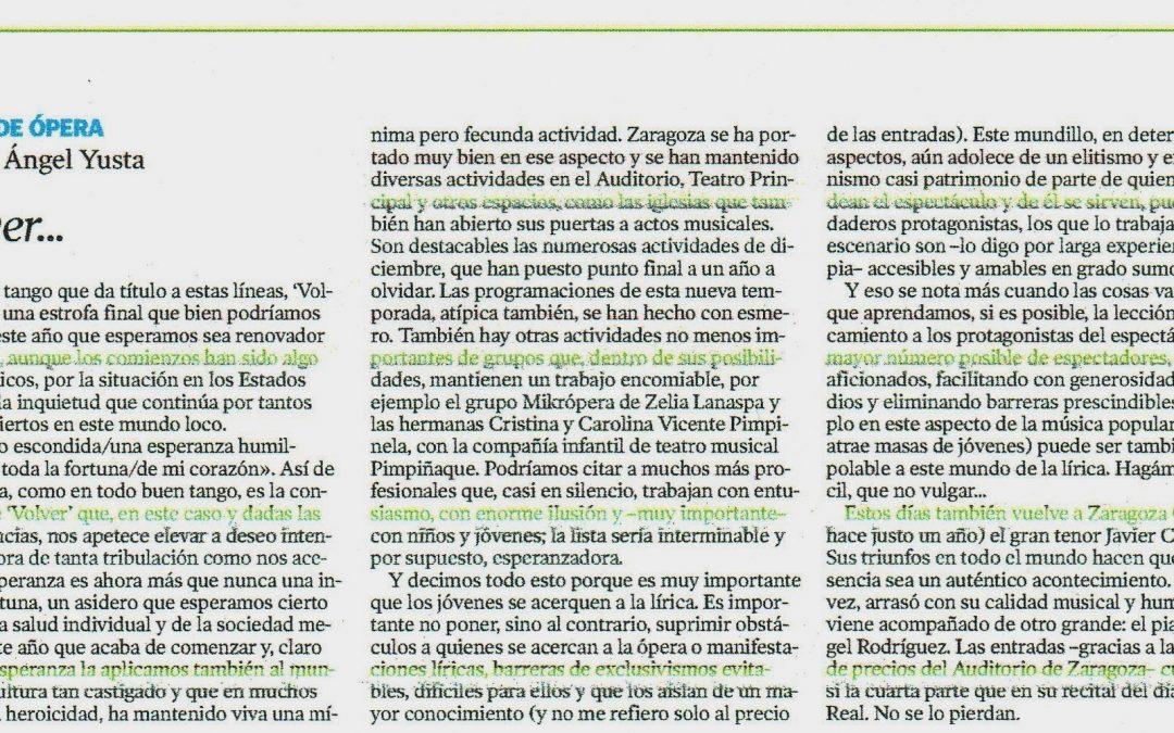 El Periódico de Aragón Miguel Ángel Yusta