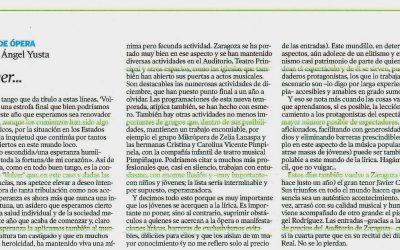 Reseña El Periódico de Aragón – Enero 2021
